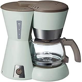 BRUNO 4 カップコーヒーメーカー My Little シリーズ BOE046-GR (グリーン)