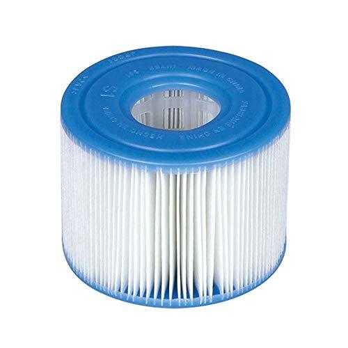 Intex B01HMXBDGM PureSpa Type S1 Easy Set Pool Cartridges (4 Filters) | 29001E, 4 Pack, Blue