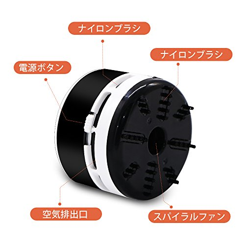 Peetoko卓上そうじ機乾電池式卓上掃除機強力吸引静音簡単操作事務所のテーブル、キーボード、家具の表面、座布団などの掃除にご使用いただけます