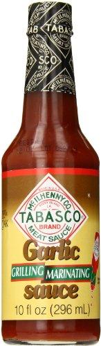 Tabasco Garlic Sauce, Grilling/Marinating, 10 Ounce