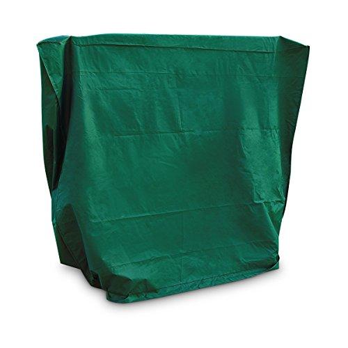Relaxdays Funda Mesa de Ping Pong, 200 x 70 x 160 cm, Peso 3.5 Kg, Color: Verde Oscuro, UV