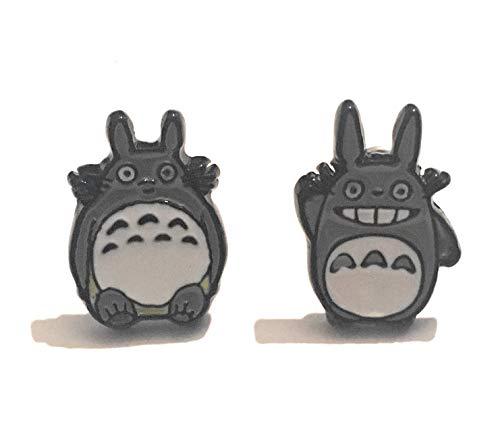 Giulyscreations Ohrringe für Ohrlöcher aus nickelfreiem Metall, Mein Nachbar Totoro, Manga, Seelen, Tonari, Nein Totoro, Comics, Cosplay