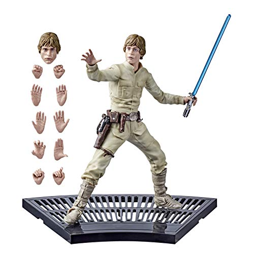 "STAR WARS E6611 The Black Series Hyperreal The Empire Strikes Back Luke Skywalker Toy, Collectible 8"" Scale Figure, Fans & Collectors"