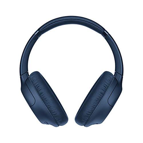 Sony Wh-Ch710N - Cuffie Bluetooth Senza Fili, Over Ear, con Noise Cancelling, Microfono Integrato E Batteria Fino a 35 Ore (Blu)