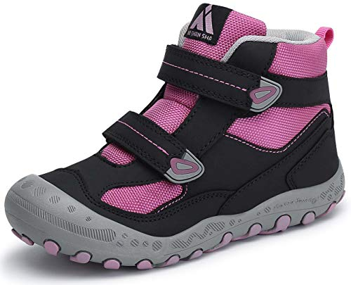 Mishansha Zapatos de Senderismo para Niños Zapatillas de Trekking Niña Antideslizante Exterior...