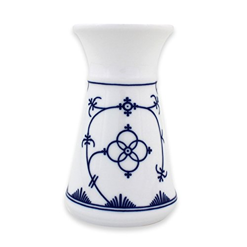 Eschenbach Porzellan Group Tallin Indischblau Vase 13 cm, Porzellan, Indigoblau, 1 x 1 x 1 cm