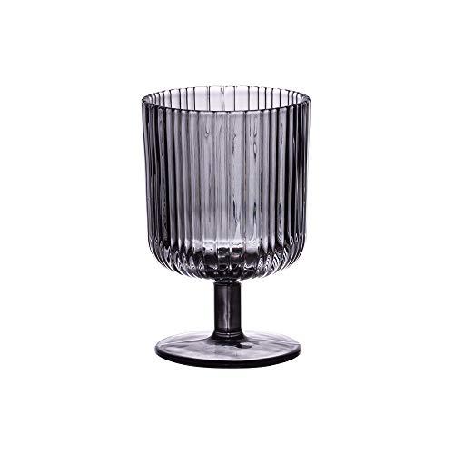 Table Passion - verre à pied milre gris 25 cl (lot de 6)