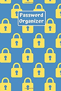 Password organizer: Password Organizer for All Your Passwords (100 Pages 6 x 9 )