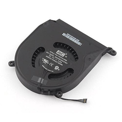 OLVINS Ventilador de procesador de PC para Mac Mini A1347 Fan 2010 2011 2012 610-0069 922-9953 610-0056 922-9557 610-9557 610-0164 BAKA0812R2UP001