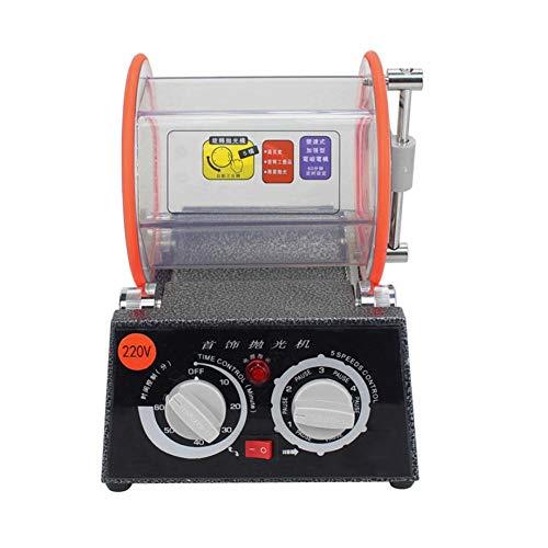 Alucy Professionele polijstmachine, roterende polijstmachine voor sieraden, polijstmachine voor machine-reinigers + polijstmachine voor professioneel gebruik en gebruik
