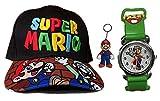LINGJIANG regalo Super Mario Odyssey Cosplay Hat Luigi Bros Baseball Caps Anime Accesorios Mujeres Hombres Mario cap Snapback