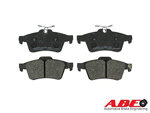 ABE C2X013ABE Bremsbelagsatz, Scheibenbremse Scheibenbremsbelage, Bremssteine, Bremsklötze Hinten