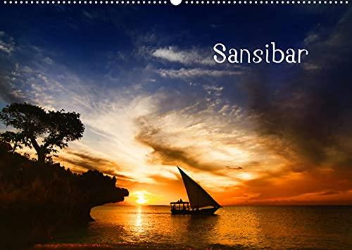 Sansibar (Wandkalender 2022 DIN A2 quer)