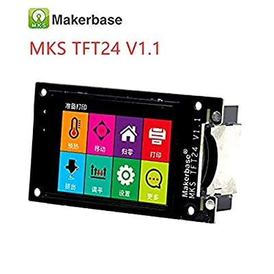 3Dman MKS TFT24 V1.1 Touch Screen Smart Controller Display Support WiFi APP Cloud Printing Multi-Language for 3D Printer