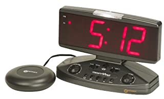 Geemarc Wake 'n' Shake Extra Loud Alarm Clock with Vibrating Shaker Pad, Telephone Ringer and Extra Bright Flashing Light- UK Version (B0007M68WK) | Amazon price tracker / tracking, Amazon price history charts, Amazon price watches, Amazon price drop alerts