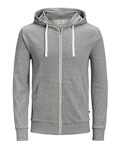Jack & Jones Junior Jungen Sweatjacke EHOLMEN Graumeliert 176