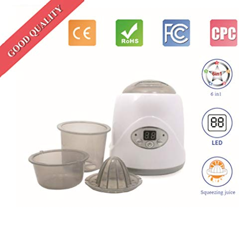 WGYDREAM UV Sterilisator Desinfektor Elektro-Dampf-Sterilisatoren Warme Milch Desinfektion Babyflasche Sterilisator Temperatur Multifunktionale Hot Flaschen Heater Desinfektion