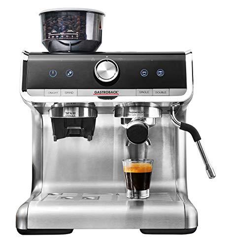 GASTROBACK #42616 Design Espresso Barista Pro - Cafetera espresso programable con portafiltros...