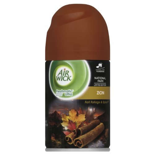 Air Wick Freshmatic Automatic Spray Air Freshener, National Park Collection, Zion, 1 Refill, 6.17 Ounce