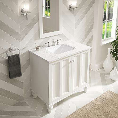 KOHLER K-20000-0 Caxton Under-Mount Bathroom Sink, White