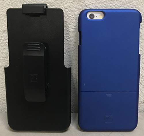 Platinum - Protective Case and Holster for Apple iPhone 6, iPhone 6s - Dark Blue
