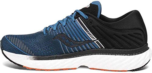 Saucony Men's Triumph 17, Blue/Black, 7 Medium