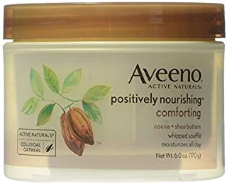 Aveeno Positively Nourishing Calming Body Lotion with Lavender, Chamomile, Soothing Oatmeal & Shea Butter, Daily Moisturiz...
