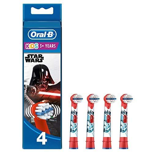 Oral-B Genuine Kids Stages Star Wars - Cabezales de repuesto para cepillo...