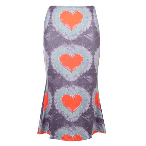 Low-waist Skirt Tie-dye Casual Women Streetwear Low-waist Skirt Tie-dye Casual Women Streetwear