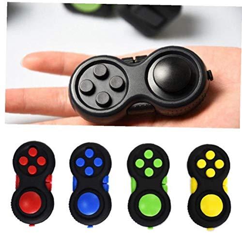 Zonfer 1pc Fidget Fokus Spielzeug Classic Controller Game Pad Halten Zu-Kind-Spielzeug Für Erwachsene Anti Stress Squeeze Spielzeug Blau