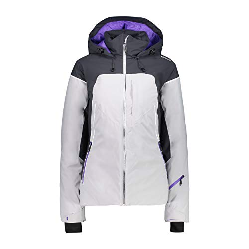 CMP ski-jack snowboardjas Woman Jacket FIX Hood grijs waterdicht ademend