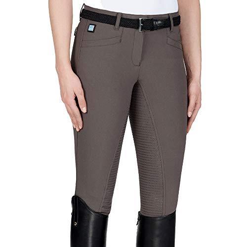 Equiline Cedar X-Grip Ganzbesatzreithose Damen Größe: 40 Farbe: Marsh(mud)