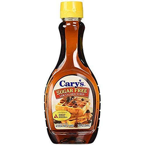 Cary's Sugar Free Low Calorie Syrup 12oz. (Pack of 2)
