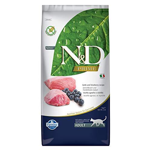 N&d grain free Free Cat Agnello Grain Free Gatto Secco con Mirtillo