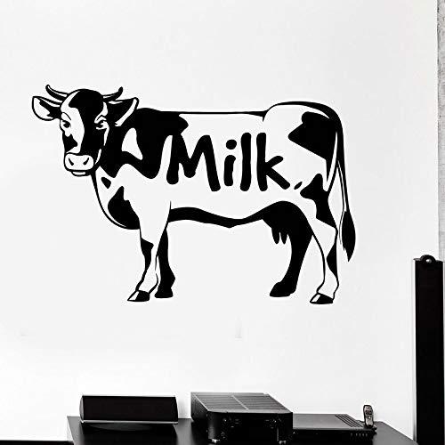 Yaonuli schattige muurstickers koe dieren muurstickers voor caseificen muren behang afneembaar huisdecoratie