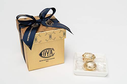 COVA MONTENAPOLEONE 1817(コヴァ モンテナポレオーネ) ミニキューブボックス ゴールド チョコレート 母の日 父の日 贈答用 お礼 ギフト お菓子 高級 手提げ付き 200g