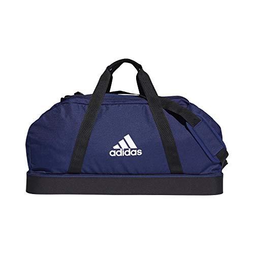 adidas Performance Tiro Bottom Compartment Large Fußballtasche dunkelblau/weiß, OS