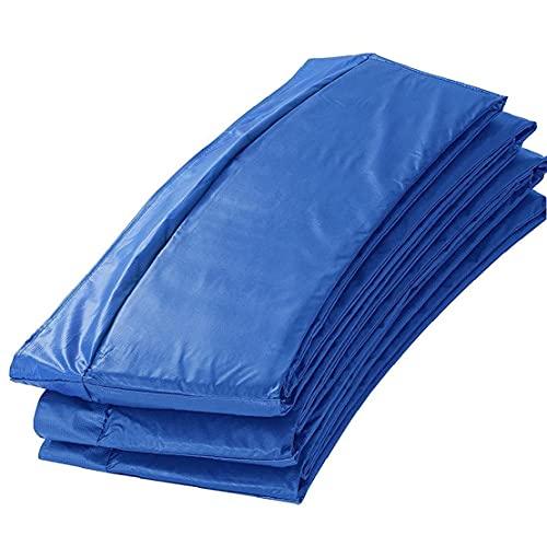 Cama elástica cama elástica cama elástica cubierta protectora lateral de la cubierta del cojín estera del reemplazo de 8 pies, cubierta de trampolín