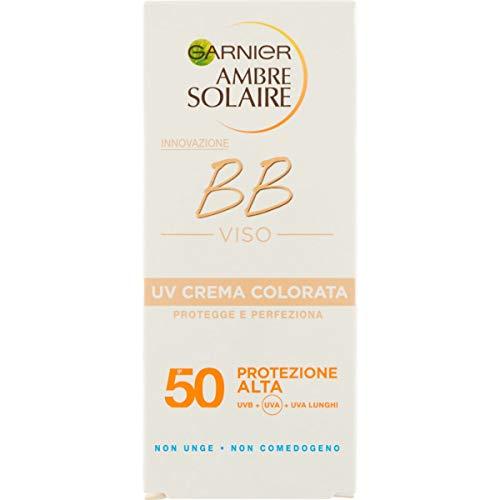 Ambre Solaire BB Viso SPF 50 - UV tinted cream 50...
