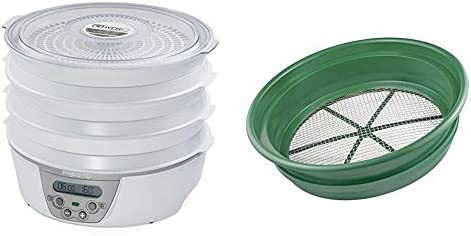 Presto 06301 Dehydro Digital Electric Food Dehydrator SE Patented Stackable 13 1 4 Sifting Pan product image