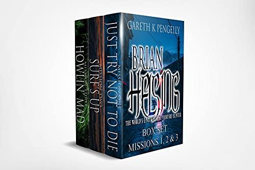 Brian Helsing: The World's Unlikeliest Vampire Hunter Box Set 1 - Missions 1-3 (English Edition)