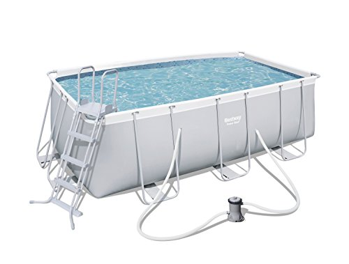 BESTWAY 56456 - Piscina Desmontable Tubular Power Steel, Dep