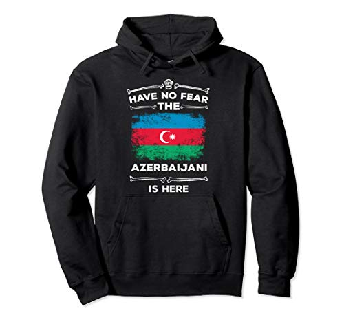 Have No Fear The Azerbaijani Is Here Halloween Azerbaijan Pullover Hoodie