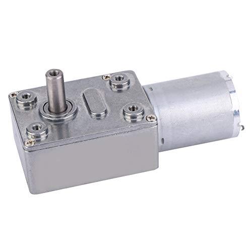 Motorreductor Motor engranaje helicoidal DC 24V, Micro motor reducción velocidad Mini Caja de engranajes torsión grande Múltiples propósitos campana extractora, máquina anidación(24V 10RPM)