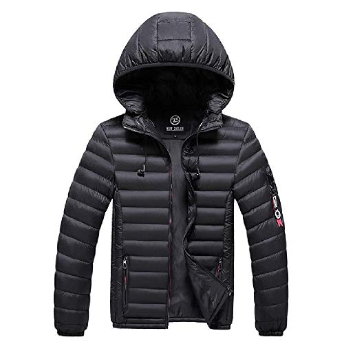 OKJI Duck Down Jassen Mannen Merk Winter Warm Jas Mens Dikke Hooded Ultralight Casual Parkas Mannelijke Mode Katoen Gewatteerde Jassen