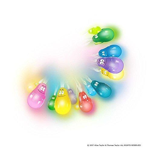 Pabobo - Ghirlanda luminosa, soggetto: Barbapapa, colore: blu