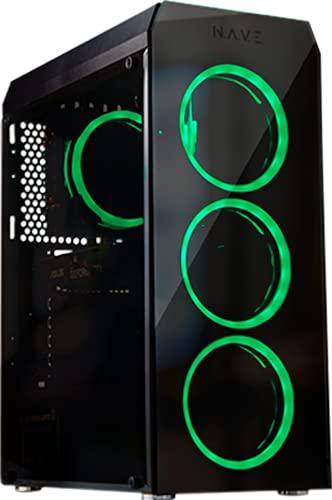 PC Gamer NAVE Atmosfera IA02, I5 9600KF, 16GB, GTX 1660 SUPER, SSD 256GB, LINUX, PRETO, MEDIO