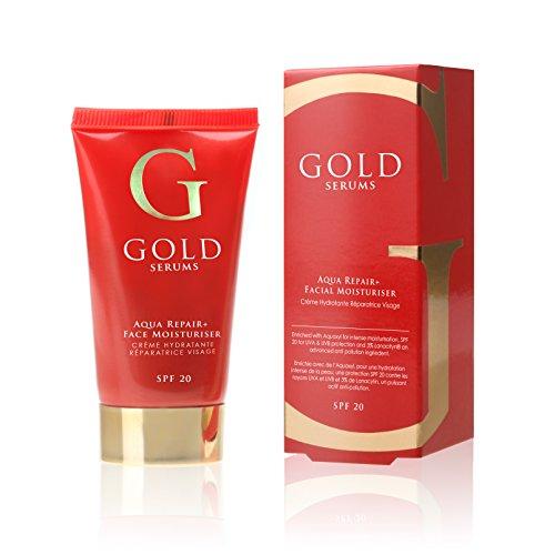 GOLD SERUMS Crème Réparatrice Visage SPF20 50 ml