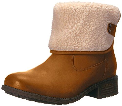 UGG Australia Womens Aldon Chestnut Leather Boots 38 EU