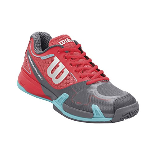 Wilson rush pro 2.0 clay court w womens coal papaye/3.5/dmint-uK